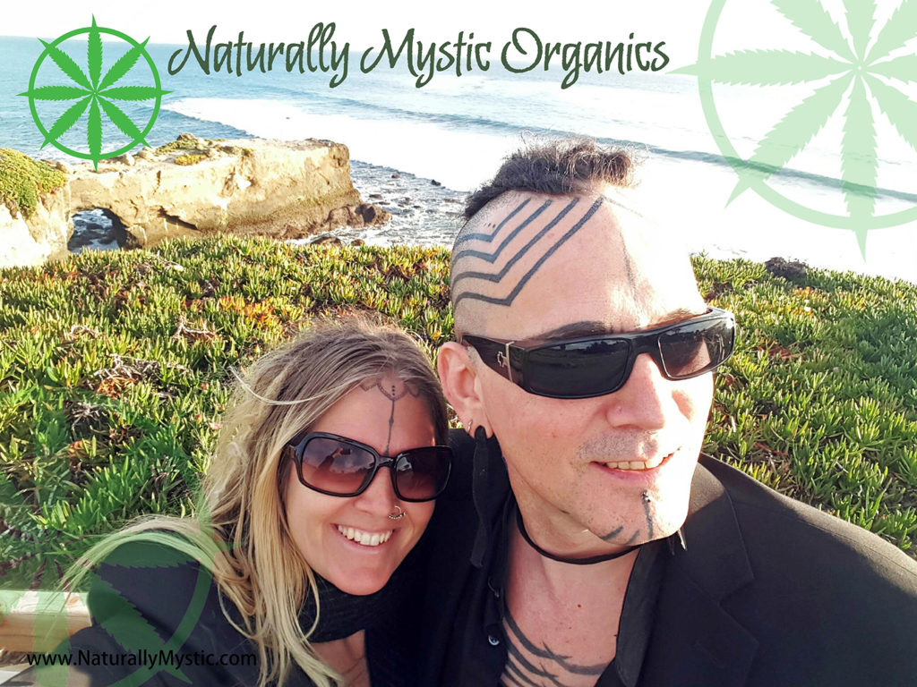 Cricket and Jozee, Naturally Mystic Organics