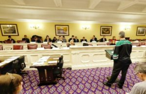 Andy Joseph testifying to Ohio House of Representatives