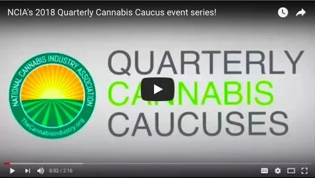 VIDEO: Join us at a #CannabisCaucus near you this month!