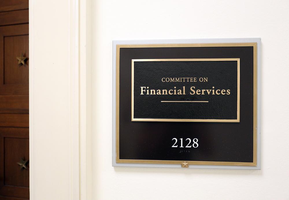 Show Me The Money! Banking Hearing Held In Congress Last Week