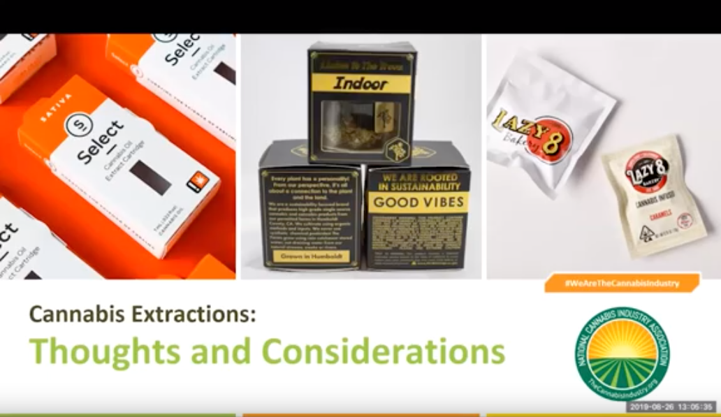 Watch The Webinar: Cannabis Extractions – Thoughts And Considerations