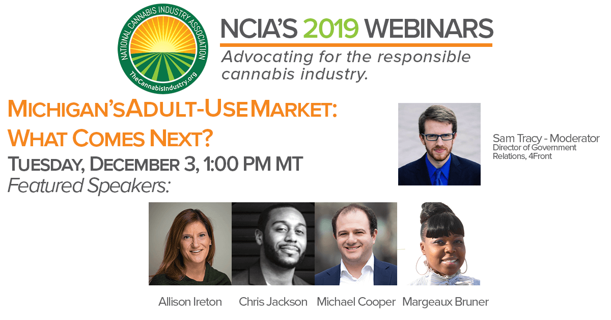 Watch The Webinar: Michigan's Adult-Use Market – What Comes Next?